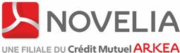Logo novelia filiale du Crédit Mutuel Arkéa